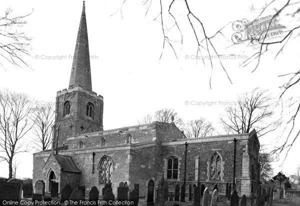 Ab Kettleby, St James' Church c.1955