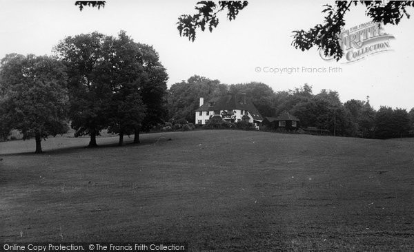 Abberley, Hall, Abberley Lodge c.1955