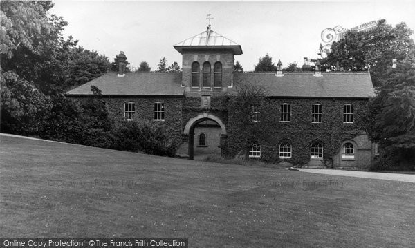 Abberley, Hall, Archway To Stable Block c.1955