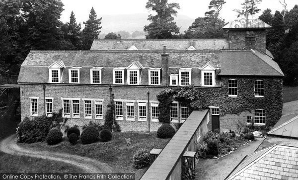 Abberley, Hall c.1955