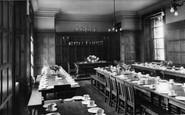 Abberley, Hall, Dining Hall c.1955