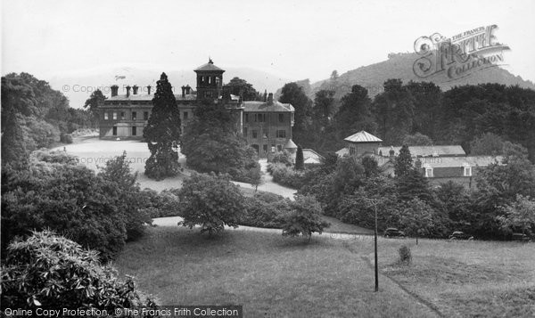 Abberley, Hall From The Clock Tower c.1955