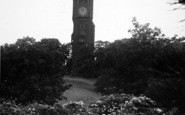 Abberley, Hall, The Clock Tower c.1955
