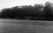 Abberley, Hall, The Cricket Field c.1955