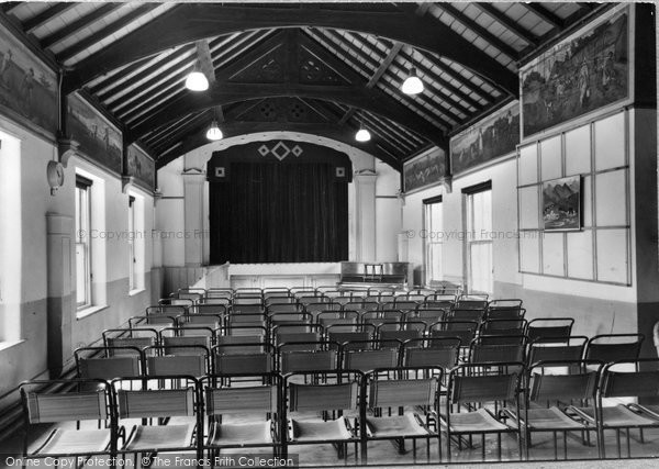 Abberley, Hall, The Theatre c.1950