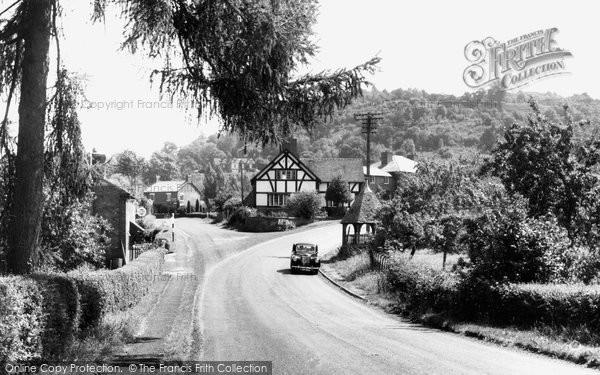 Abberley, The Village c.1955