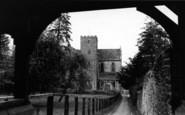Abbey Dore, The Abbey c.1965
