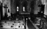Abbey Dore, The Abbey Interior c.1965