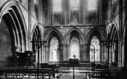 Abbey Dore, The Church Interior 1898