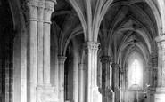 Abbey Dore, The Church, The Ambulatory 1898