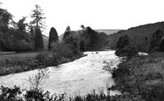 Abbey St Bathans, River And Weir c.1935