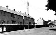 Abbey Town, New Houses c.1955