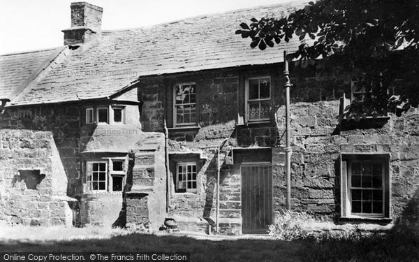 Abbey Town, Old Houses (1664) c.1955