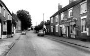 Abbots Bromley, High Street 1963