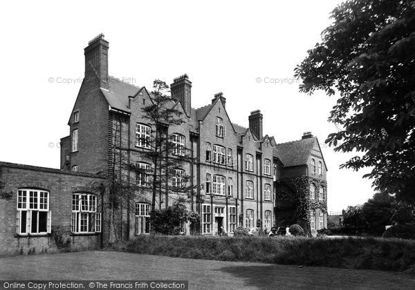 Abbots Bromley, St Mary's School c.1955