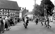 Abbots Bromley, the Annual Horn Dance c1955