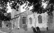 Abbots Ripton, St Andrew's Church c.1955