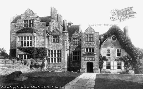 Abbots Salford, Salford Hall (The Old Nunnery) 1901