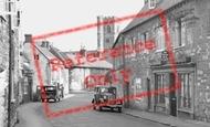 Abbotsbury, Cars c.1955