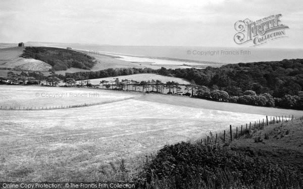 Abbotsbury, Chesil Bank And St Catherine's Chapel c.1965