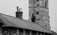 Abbotsbury, Church Street And St Nicholas' Church  c.1960
