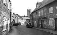 Abbotsbury, Market Street c.1955