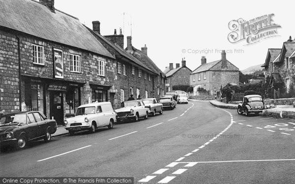 Abbotsbury, Post Office 1968