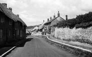 Abbotsbury, The Village c.1950