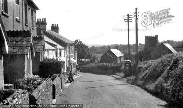 Photo of Abbotsham, the Village and Church c1960