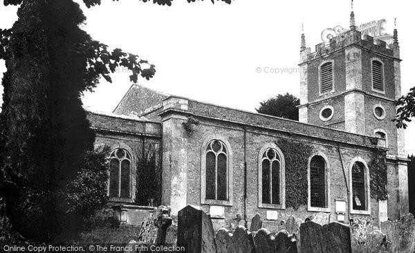 Abbotts Ann, St Mary's Church c.1955