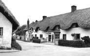 Abbotts Ann, The Village Shop c.1960