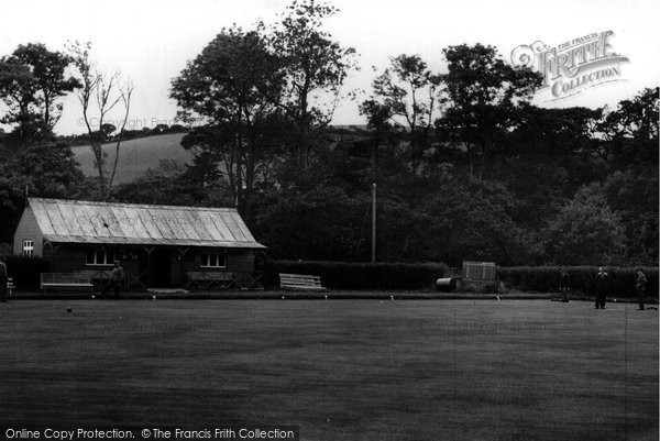 Aberaeron, Bowling Green c.1955