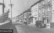 Aberaeron, Bridge Street c.1955