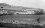 Aberaeron, Feather Hotel And School c.1955