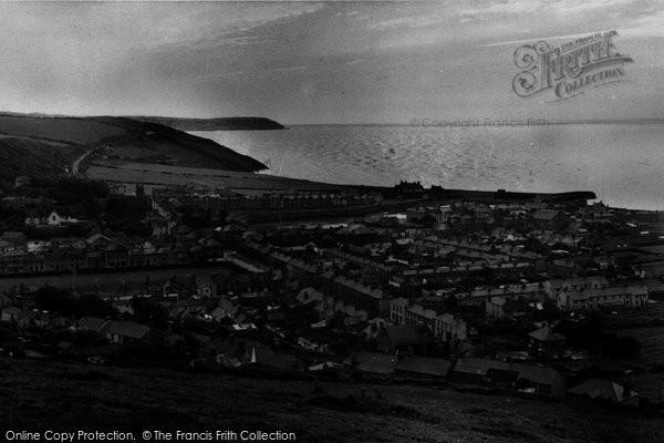 Aberaeron, General View c.1955
