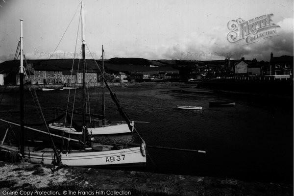Aberaeron, Harbour c.1950