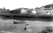 Aberaeron, Harbour c.1955