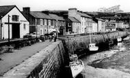 Aberaeron, Harbour c.1960