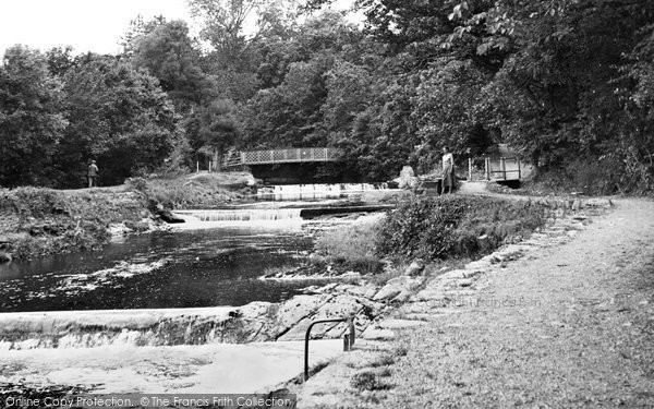 Aberaeron, Lovers' Walk c.1955