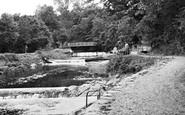 Aberaeron, Lovers Walk c.1955