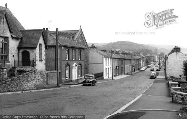 Aberaeron, North Street c.1960