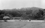 Aberaeron, Tennis Courts And Bowling Green c.1955