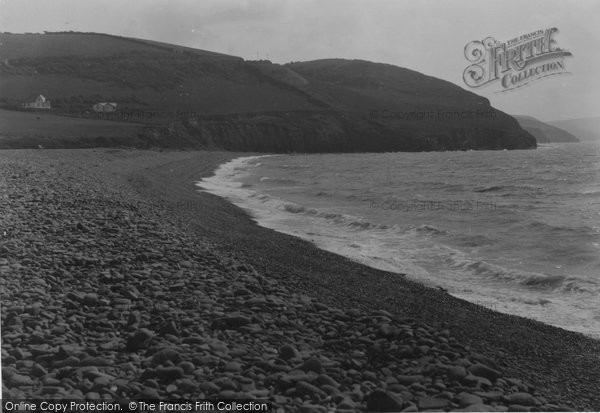 Aberaeron, The Beach c.1940