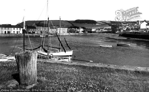 Aberaeron, The Harbour c.1955