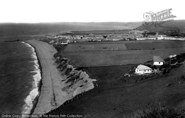 Aberaeron, Town And Beach c.1939