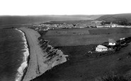 Aberaeron, Town And Beach c.1955