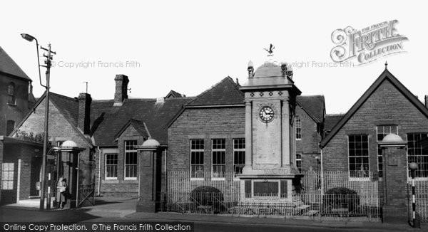 Abercynon, Clock Tower c.1960