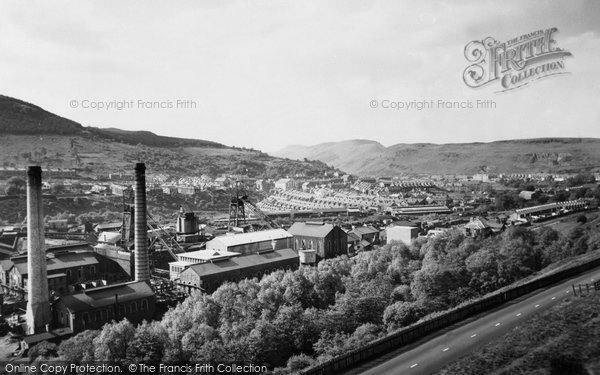 Photo of Abercynon, the Colliery c1955