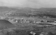 Aberdare, General View And St Elvan's Church c.1955