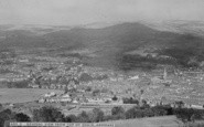 Aberdare, General View From Top Of Craig c.1955